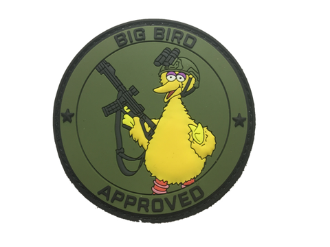 BIG BIRD APPROVED MORALE PATCH - Tactical Outfitters