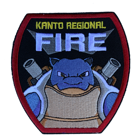 KANTO REGIONAL FIRE MORALE PATCH - Tactical Outfitters
