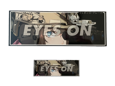 EYES ON STICKER - Tactical Outfitters