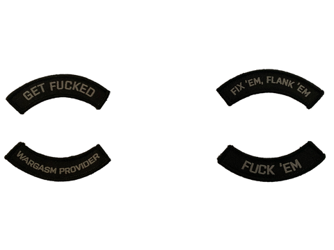 Phrase Tabs Morale Patch - Tactical Outfitters