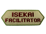 Isekai Facilitator Morale Patch - Tactical Outfitters