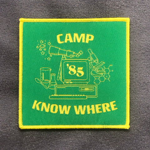 Camp Know Where Morale Patch - Tactical Outfitters