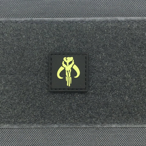 Mandalorian Cat Eye GITD PVC Patch - Tactical Outfitters