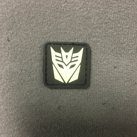 DECEPTICONS PVC GITD CAT EYE MORALE PATCH - Tactical Outfitters