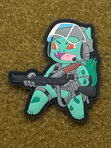 Tactical Bulbasaur PVC Morale Patch - Tactical Outfitters