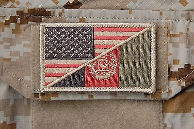 US AFGHAN FRIENDSHIP FLAG MORALE PATCH - Tactical Outfitters