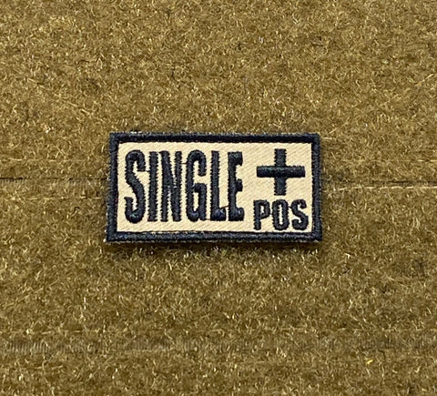 Single + Morale Patch - Tactical Outfitters