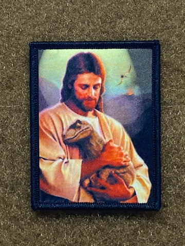 JESUS CUDDLES MORALE PATCH - Tactical Outfitters
