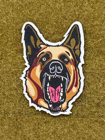 K9 GSD - German Shepherd Morale Patch