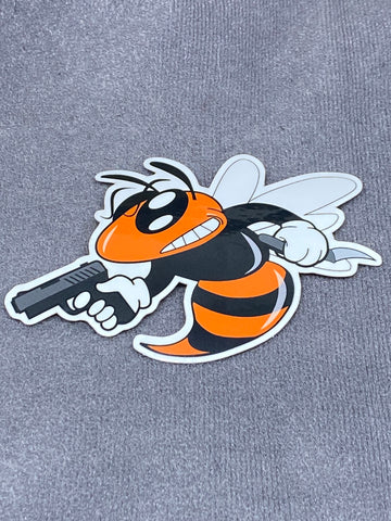 Murder Hornet Sticker - Tactical Outfitters