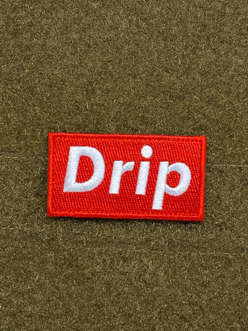 Drip Morale Patch - Tactical Outfitters