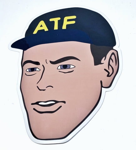 ATF Guy Large Sticker - Tactical Outfitters