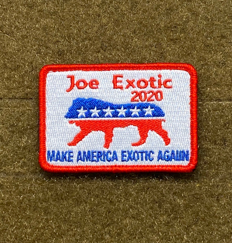 Joe Exotic 2020 For President Morale Patch - Tactical Outfitters
