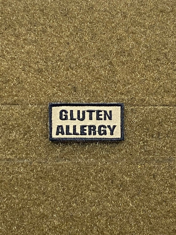 Gluten Allergy Morale Patch - Tactical Outfitters