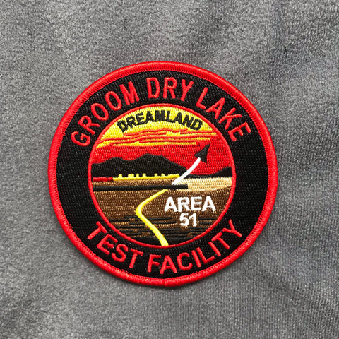 Groom Lake Area 51 - Independence Day Morale Patch - Tactical Outfitters