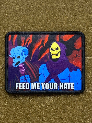 Feed Me Your Hate - Skeletor - Morale Patch - Tactical Outfitters