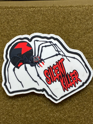 Silent Killer PVC Morale Patch - Tactical Outfitters