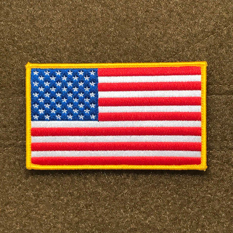 Large US Flag Morale Patch - Tactical Outfitters
