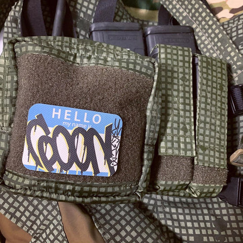 Hello Goon V2 Morale Patch - Tactical Outfitters