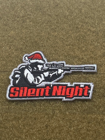 Silent Night Morale Patch - Tactical Outfitters