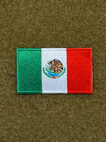 Mexico Flag Morale Patch - Tactical Outfitters