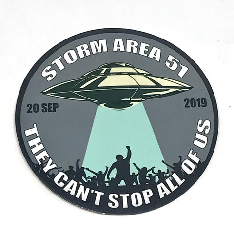 Storm Area 51 Sticker - Tactical Outfitters
