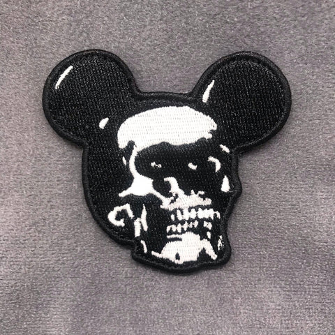 SKULL MICKEY GITD MORALE PATCH - Tactical Outfitters