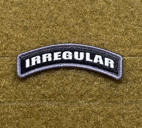 Irregular Tab Morale Patch - Tactical Outfitters