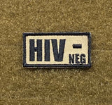 HIV +/- Morale Patch - Tactical Outfitters