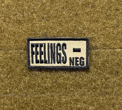 Feelings - Morale Patch - Tactical Outfitters