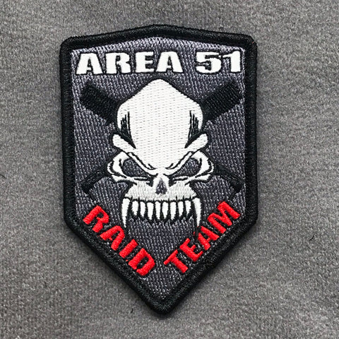 Storm Area 51 Raid Team Morale Patch - Tactical Outfitters