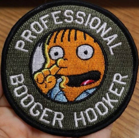 Professional Booger Hooker Morale Patch - Tactical Outfitters