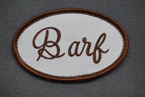 BARF UNIFORM MORALE PATCH - Tactical Outfitters
