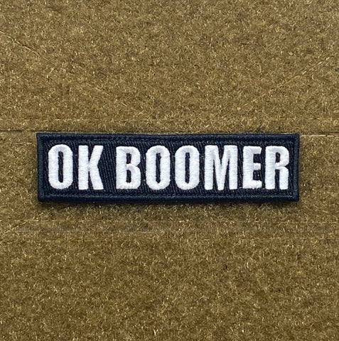 Ok Boomer Morale Patch - Tactical Outfitters