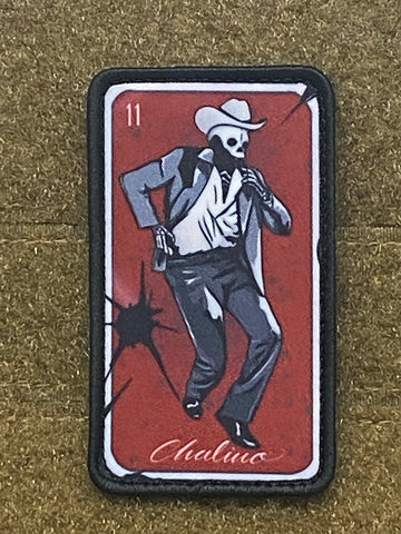 "Ed's Manifesto ""El Chalino Card"" Morale Patch - Tactical Outfitters"