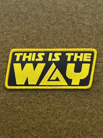 This Is The Way - BJJ - Morale Patch - Tactical Outfitters