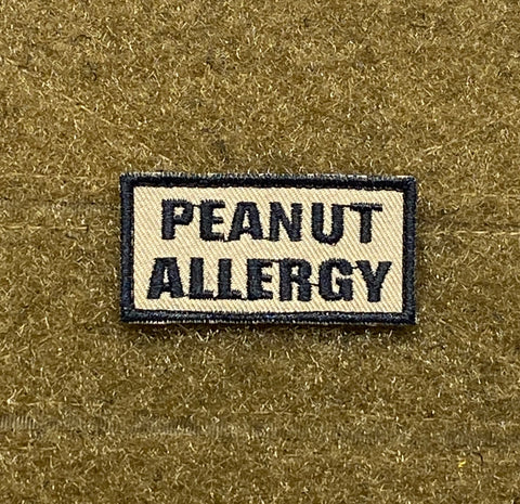 Peanut Allergy Morale Patch - Tactical Outfitters