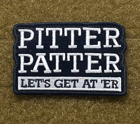 Pitter Patter Morale Patch - Tactical Outfitters