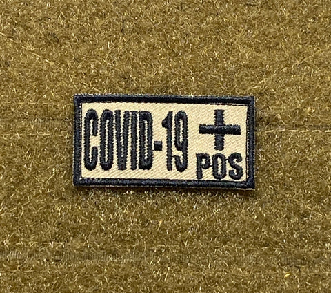 Covid-19 +/- Morale Patch - Tactical Outfitters