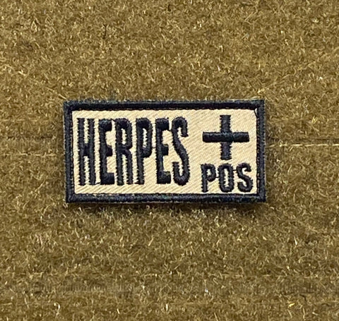 Herpes +/- Morale Patch - Tactical Outfitters