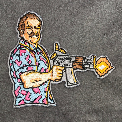 FAT RAMBO - HOPPER - LIMITED EDITION MORALE PATCH - Tactical Outfitters