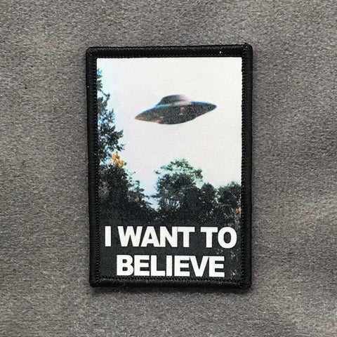 I WANT TO BELIEVE MORALE PATCH - Tactical Outfitters