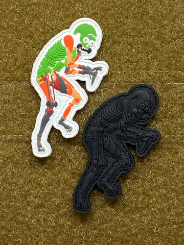 "Ed's Manifesto ""Sneak Reaper Rick"" Limited Edition PVC Morale Patch - Tactical Outfitters"
