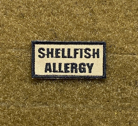 Shellfish Allergy Morale Patch - Tactical Outfitters