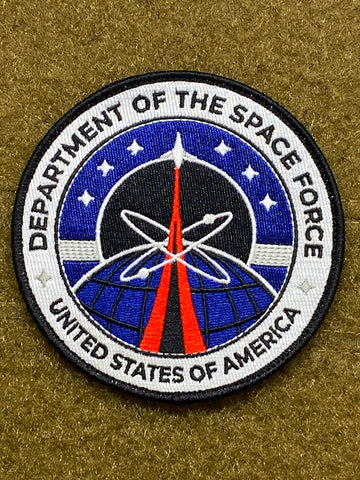 Space Force Uniform V1 Morale Patch - Tactical Outfitters