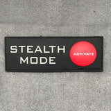 Adrift Venture Stealth Mode PVC Morale Patch - Tactical Outfitters