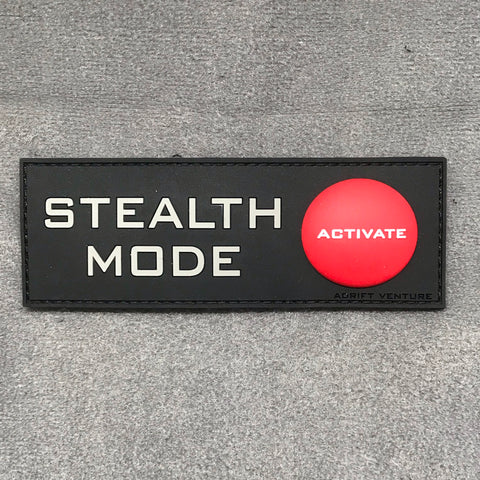 Adrift Venture Stealth Mode PVC Morale Patch