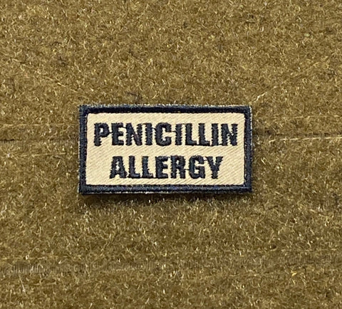Penicillin Allergy Morale Patch - Tactical Outfitters