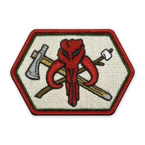 PDW Camp Mando V1 Morale Patch - Tactical Outfitters