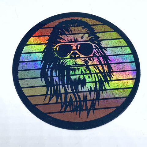 Coolbacca Holographic Sticker - Tactical Outfitters